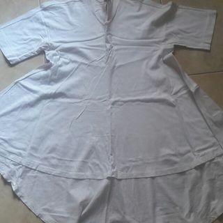 F21 white shirt