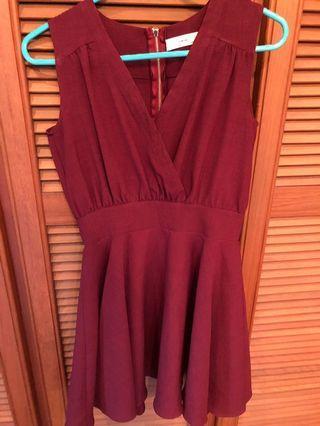 Preloved dinner short dress