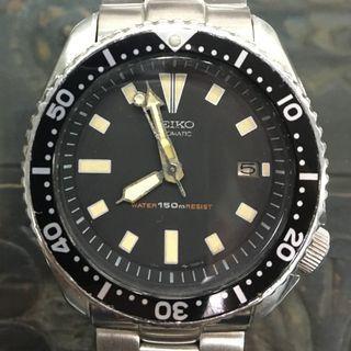 Lovely Vintage Seiko 7002-7000 - All Original - Nice Patina