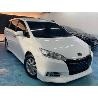 正2010年 最熱銷白色入場Toyota Wish 2.0E   真的只賣26.8萬