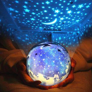 🚚 星空宇宙浪漫投影夜燈