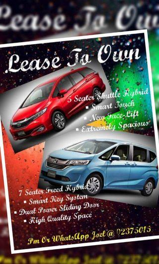 Lease To Own (LTO)