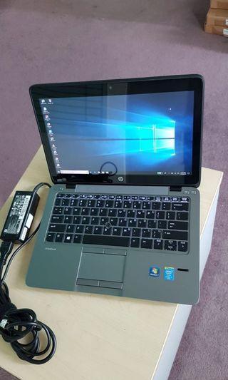 Hp 820 G2 Core i7-5600u 8gb ram 180gb ssd camera adaptor look new battery 4hours+ @ $465