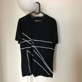 Rick Owens DRKSHDW black t-shirt