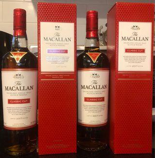 Macallan Classic Cut 2017 and 2018