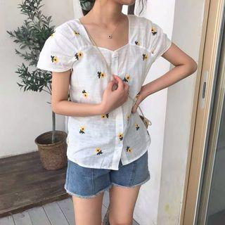 INSTOCKS Floral all over top