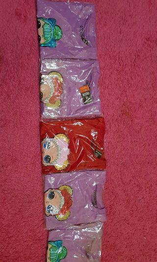 Baju anak lol usap berubah warna