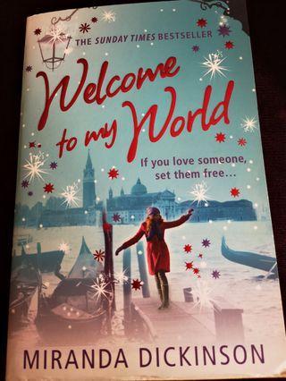 English Novel- Welcome to My World by Miranda Dickinson