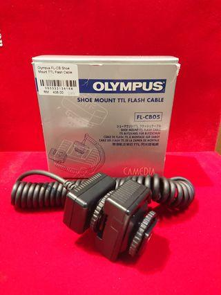 Olympus FL-CB Shoe Mount TTL Flash Cable