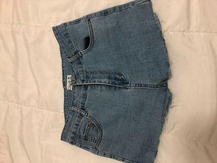 Free People- Jean Shorts