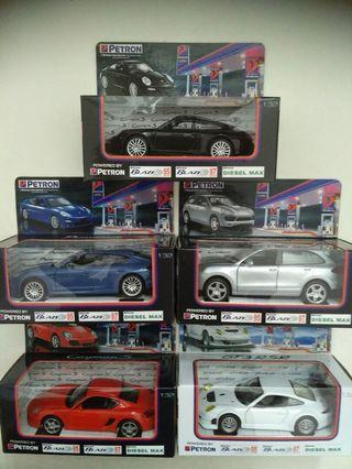 Complete Set Limited Edition Porsche Collectibles