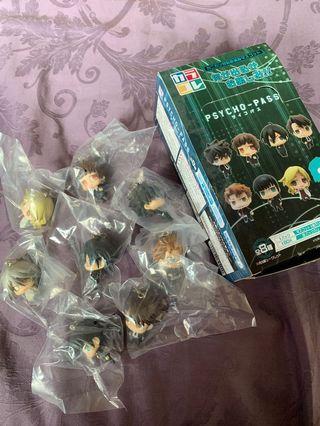 Psycho Pass Nendoroid (original, bought from Amazon Japan) full set