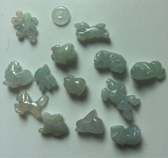 Little Jade animals