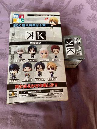 K anime Nendoroid (full set)