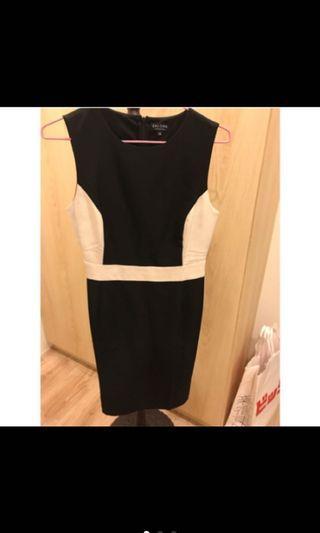 🚚 Zalara黑白洋裝