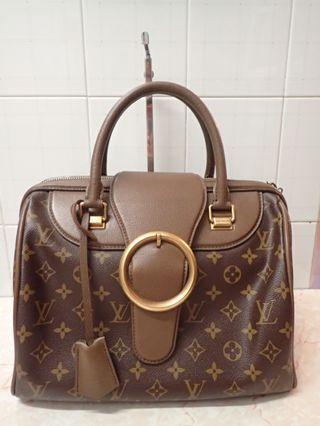 Lv monogram golden speedy 30 bag