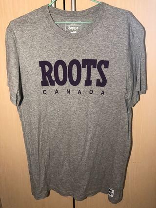 Roots短袖T恤/上衣