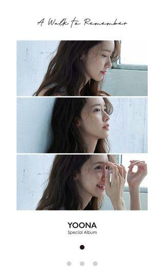 YOONA SPECIAL ALBUM A WALK TO REMEMBER