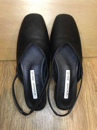 韓版 平底方頭涼鞋