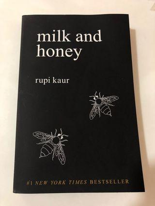 Milk and honey by rupi kaur poetry