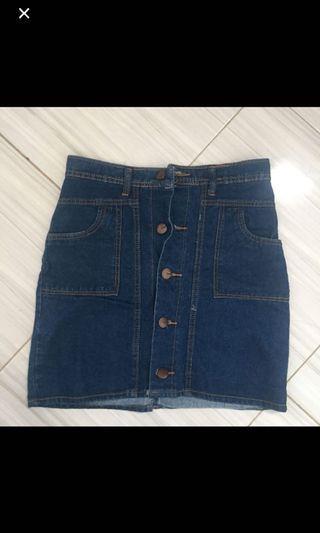 Rok Jeans denim skirt h&m