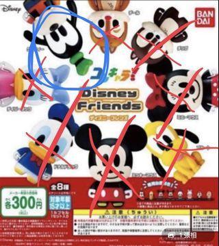 Disney 扭蛋高飛 Goofy