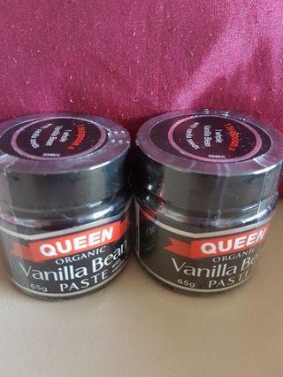 🚚 Queen Vanilla Bean Paste 65g