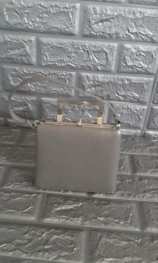 Grey Frame bag