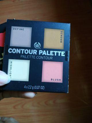 The Body shop contour palette