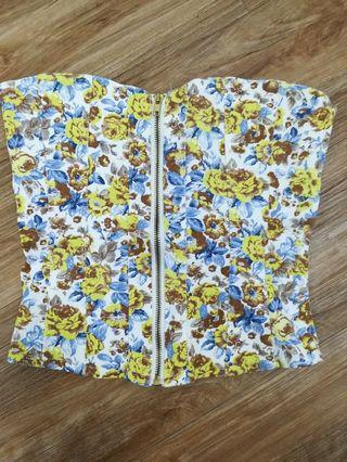 Floral Tube with zip