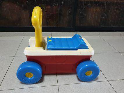 Fisher-price ride-on car