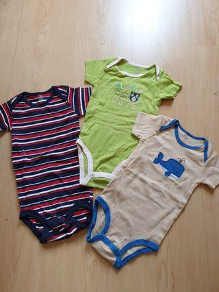 Carter's Rompers (3 pieces)
