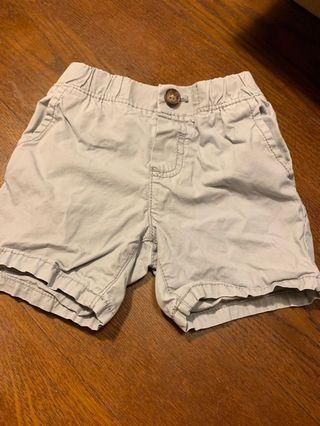 Carters grey shorts 18 months