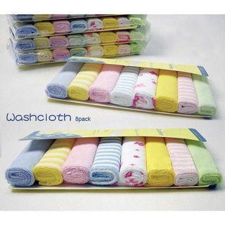 🚚 8 pack washcloth