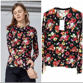 WAREHOUSE Floral Sweatshirt