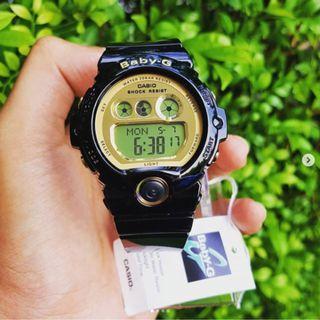 Original Baby-G Women's Black Resin Strap Watch BG-6901-1D