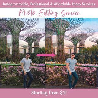 Edit Photos for Cheap !