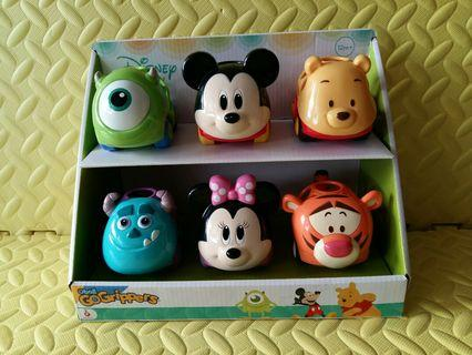 Disney Go Grippers (6-Styles - Mickey, Minnie, Monster, Winnie The Pooh, Tiger, Mike)
