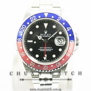 Pre-Owned Rolex GMT-Master II 16710 'Pepsi' - Discontinued