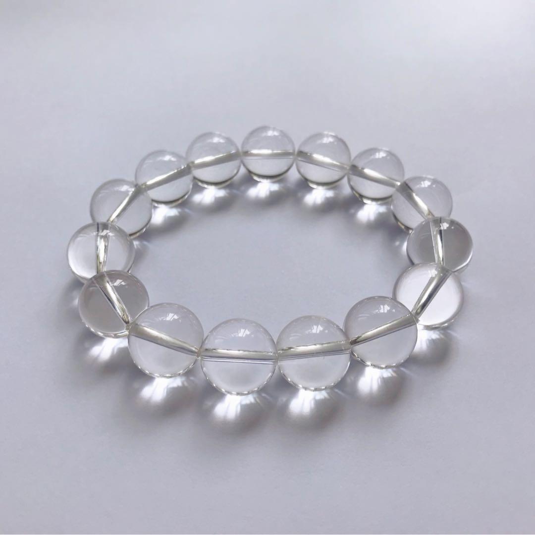 14mm白水晶手鏈