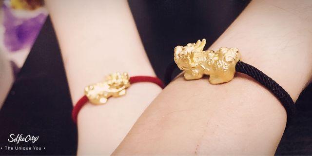 🚚 999 24K Gold Pixiu Bracelets