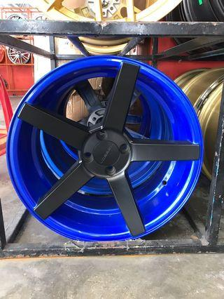 Vossen BLUE 17 inch instock cash and carry