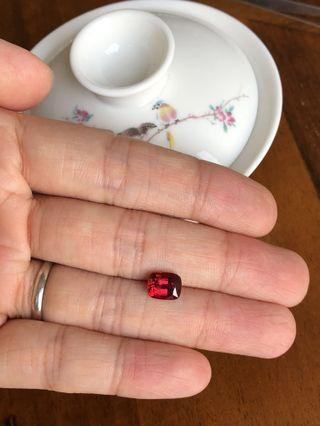 TOP quality Burmese red spinel <NFS>
