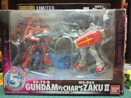 *SALE* Bandai 1/171 MS in Action Gundam Vs. Char's Zaku II