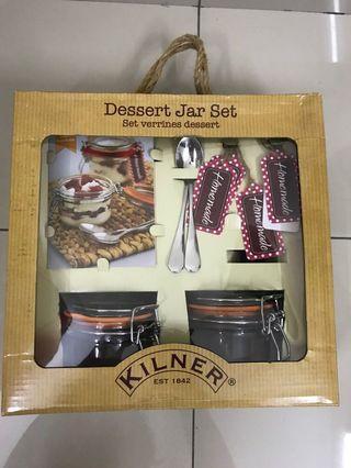 Kilmer dessert jar set