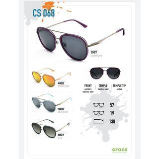 100% Original Crocs Polarised Sunglass Model 068, 069 & 070