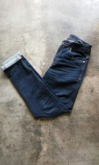 150ribu cotton on selvedge size 30