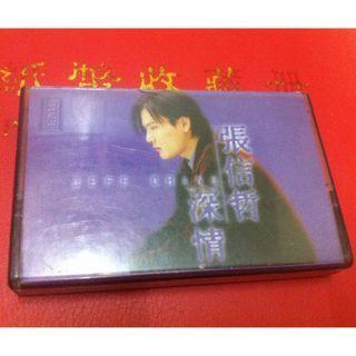 張信哲(阿哲) - 深情 Malaysia Original Press Cassette (VG)