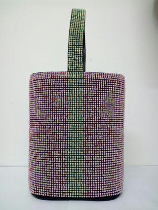 彩珠手挽小袋(韓國製造)