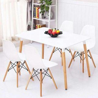 Dining Table with DSW chair (4 or 6 seater)